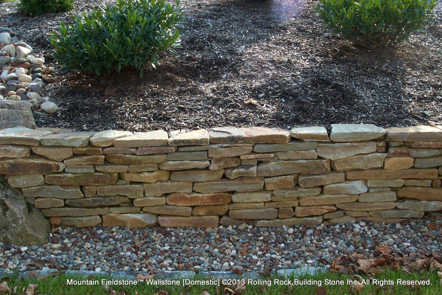 Building Landscape Stone : Mountain fieldstone™ rolling rock building stone inc