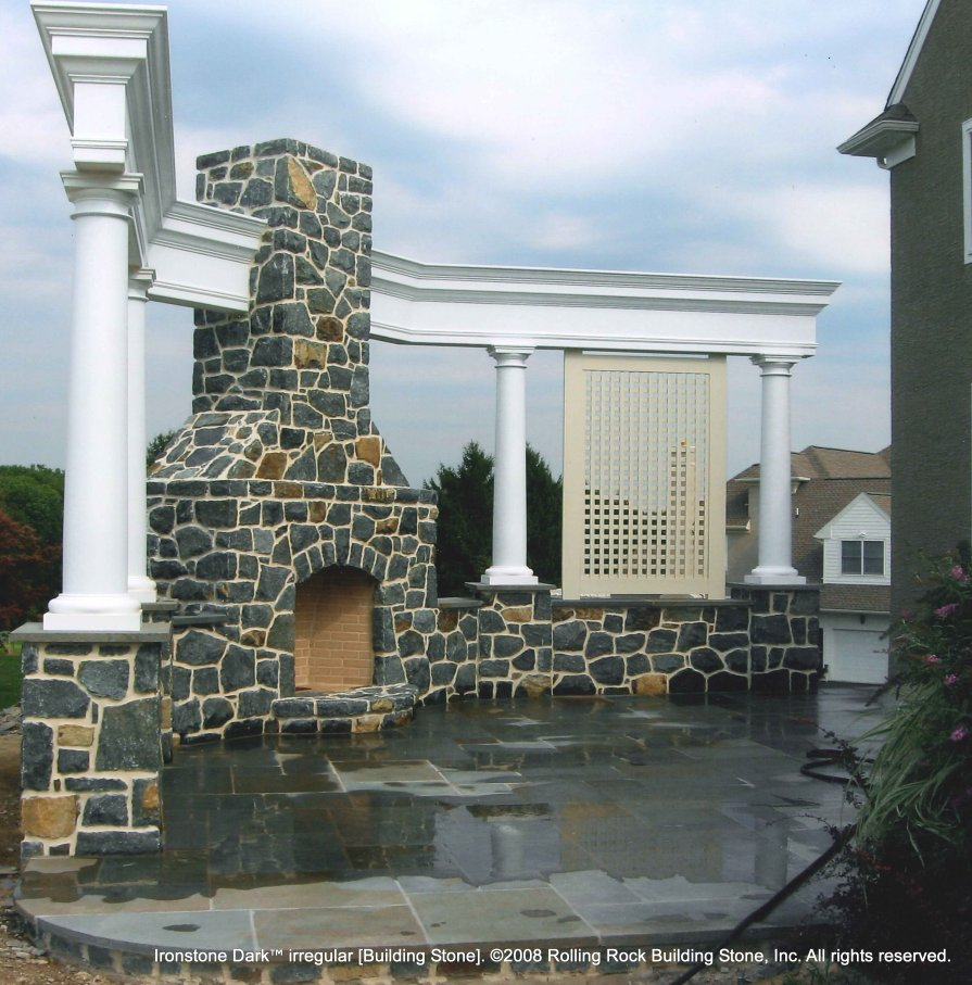 Outdoor Living | Rolling Rock Building Stone, Inc. on Rock And Stone Outdoor Living id=97828